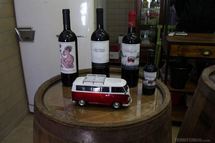 Salamanca do Jarau, Província de São Pedro, Red em dois tamanhos e a kombi