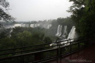 Cataratas do Iguaçu em dia de chuva