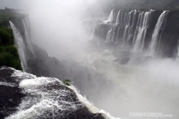 lado argentino das Cataratas