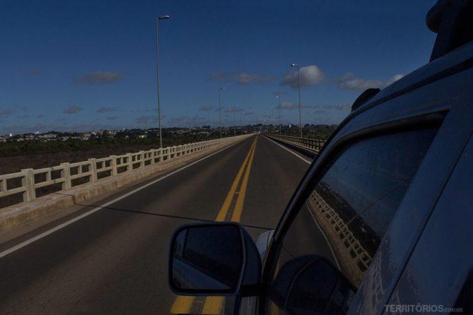 Sabia que a ponte mais extensão do Brasil fica em Rosário do Sul? Cruza o rio Santa Maria na BR 290