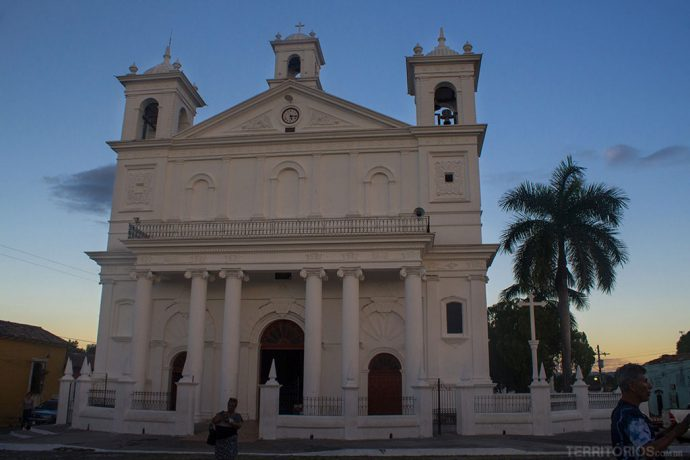 A Igreja Santa Lucia (1853) é maior atrativo arquitetônico