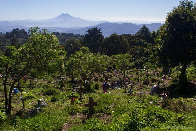 Visto do cemitério