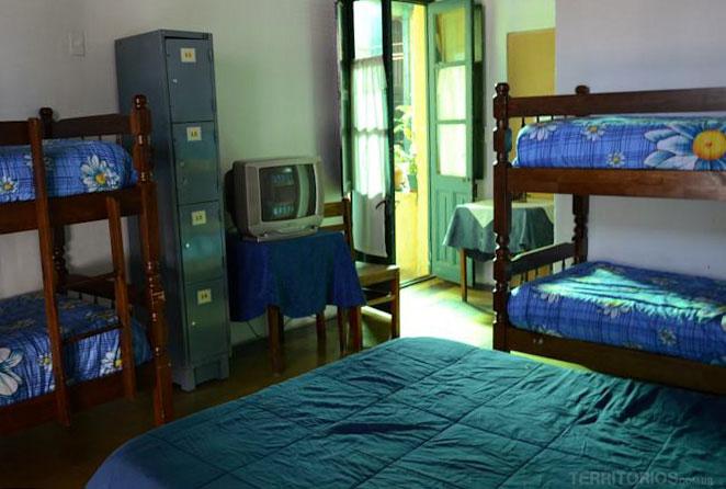 Quarto do hostel