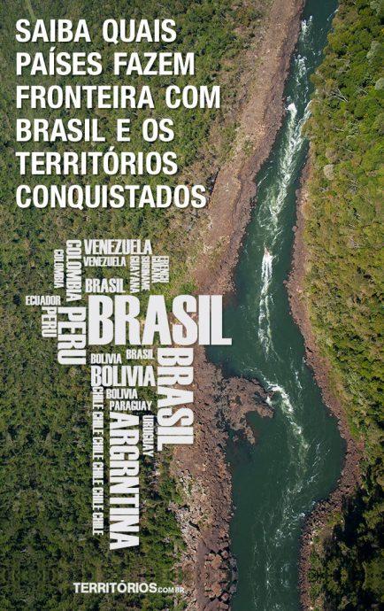 territórios fazem fronteira com Brasil
