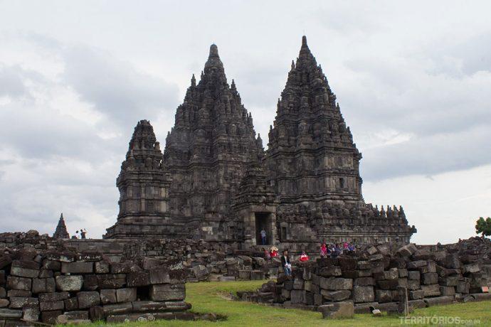 O três templos principais
