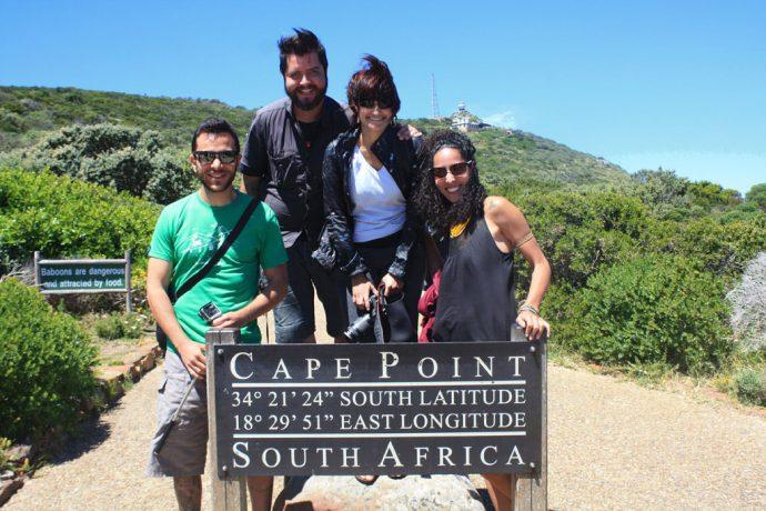 Blogueiros na África do Sul