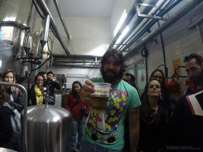 Mestre cervejeiro na Bier Hoff