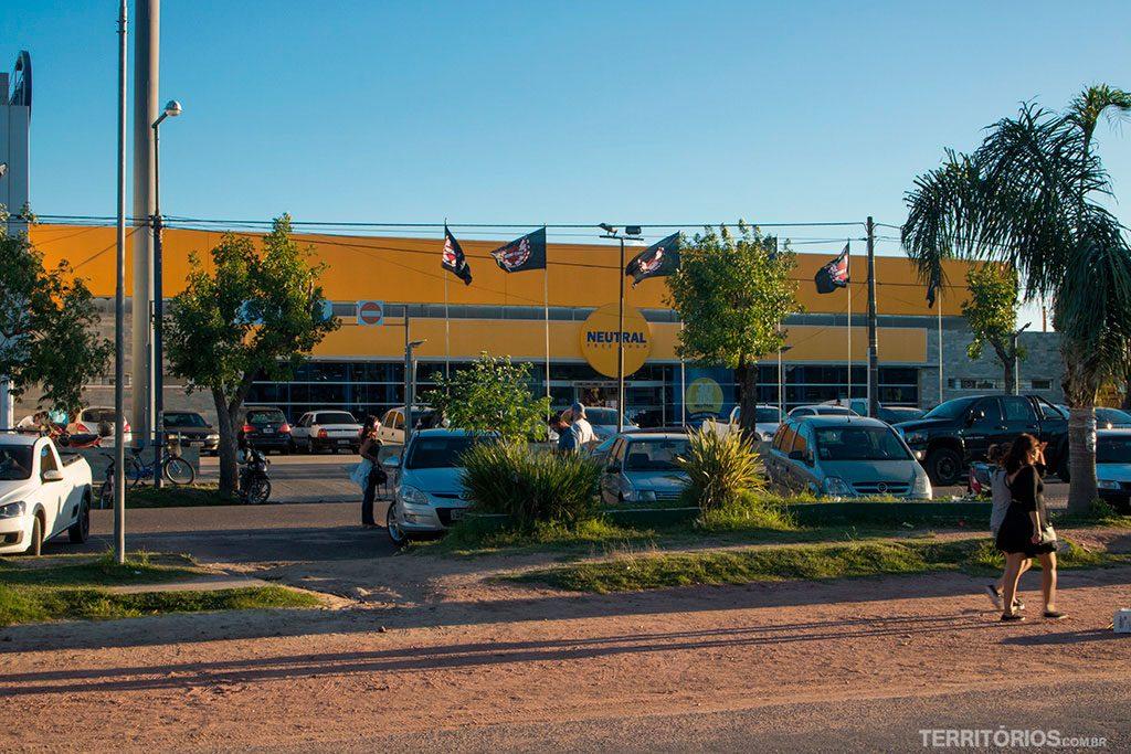 Neutral Free Shop presente em todas as fronteiras do Brasil com Uruguai