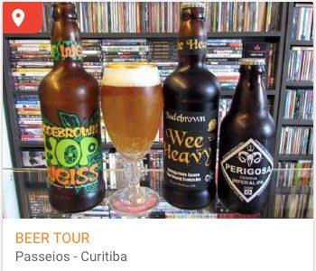 Curitiba é uma das cidades pra degustar cervejas