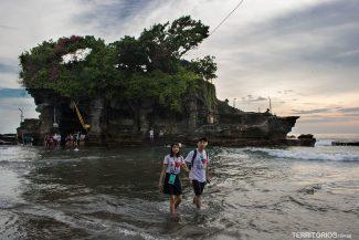 Templo Tanah Lot em Bali