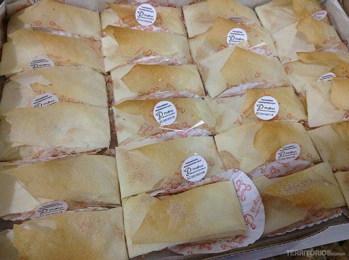 Pastel de Santa Clara é um dos 14 doces com selo de procedência