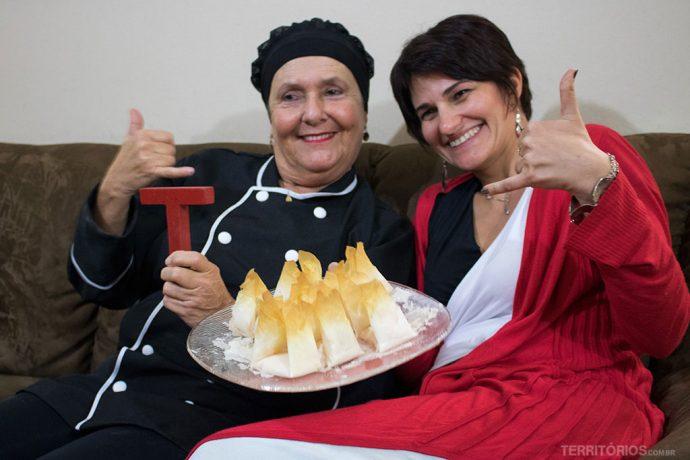 Hora de provar os doces feitos pela Ana Beatriz