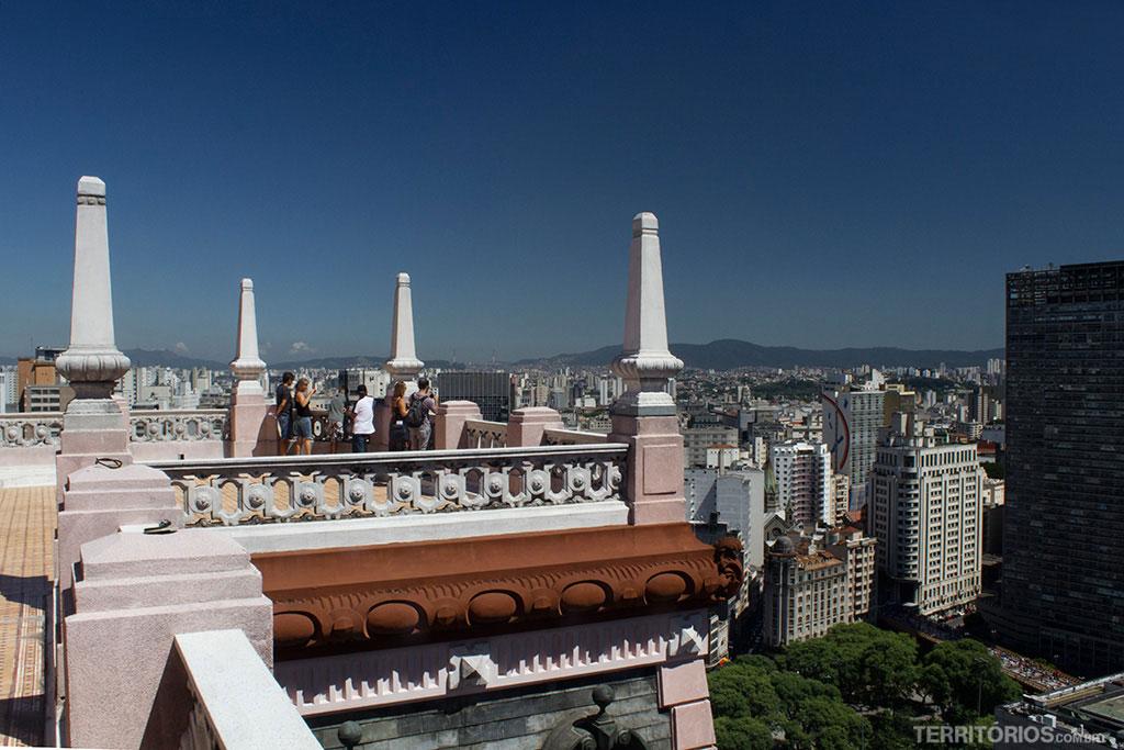Edifício Martinelli, o primeiro arranha céu de São Paulo