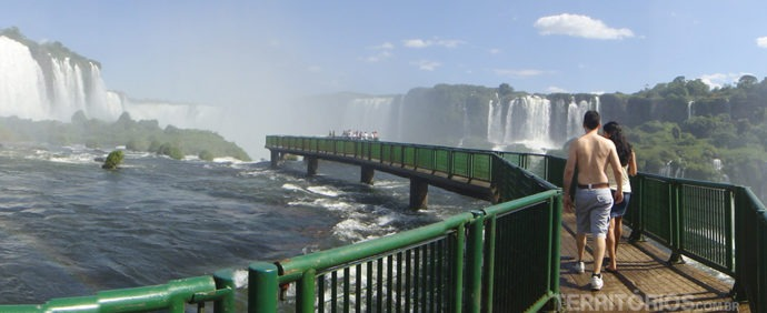 Cataratas do Iguaçu é uma das 7 Novas Maravilhas da Natureza, Foz do Iguaçu - Brasil
