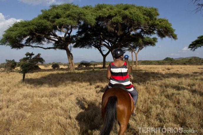 safari a cavalo