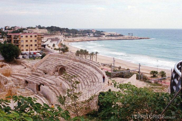 AnfiteatroRomano em Tarragona, Catalunia - Espanha