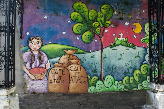O café de Ataco movimenta a economia local e faz parte da história do povo de Concepción de Ataco – El Salvador