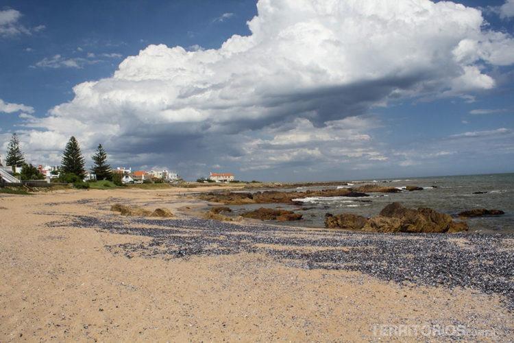 Praia em La Barra, Maldonado - Uruguai