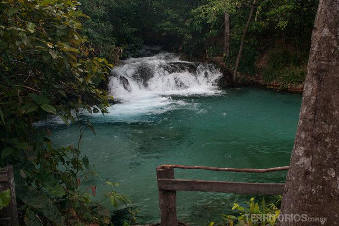 Cachoeira da Formiga no Jalapão, Tocantins - Brasil