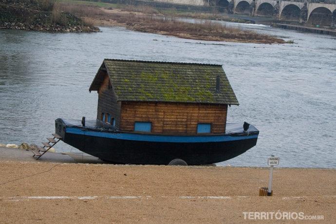Casa barco em Tours, Val de Loire - França