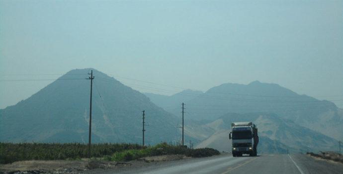 estrada para Chicama