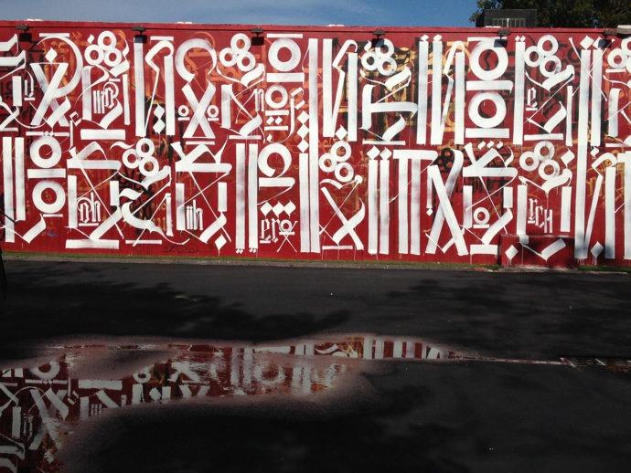 Wynwood Walls, obra de Retna