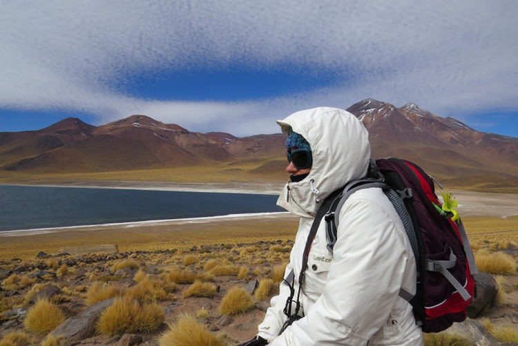 Roberta Martins no deserto do Atacama