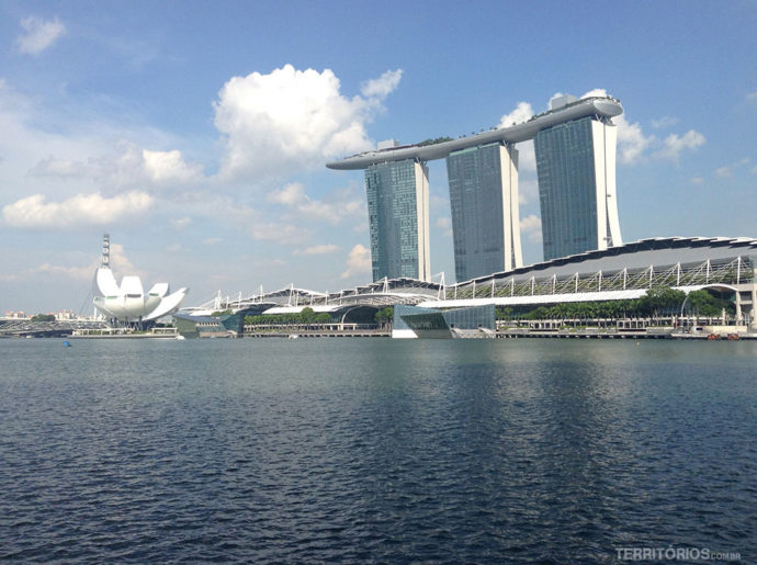 Marina Bay Sands e Art Science Museum no Singapura: roteiro