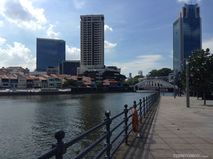 Margens do Singapore River