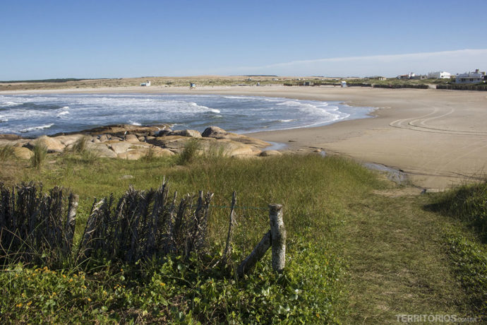 Playa Sur em Cabo Polonio