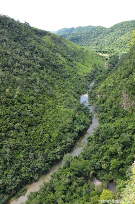 Vista para o Rio Salobra