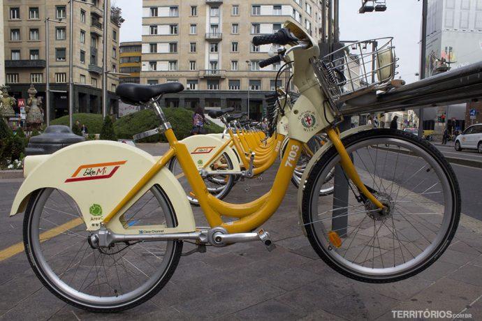 Bicicletas públicas para alugar