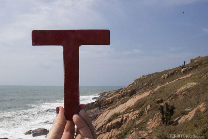 No Farol de Santa Marta, em Santa Catarina