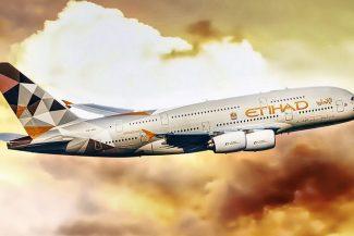 Etihad tem hub em Abu Dhabi