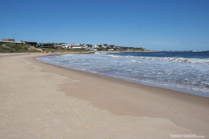 Playa Mansa de José Ignacio
