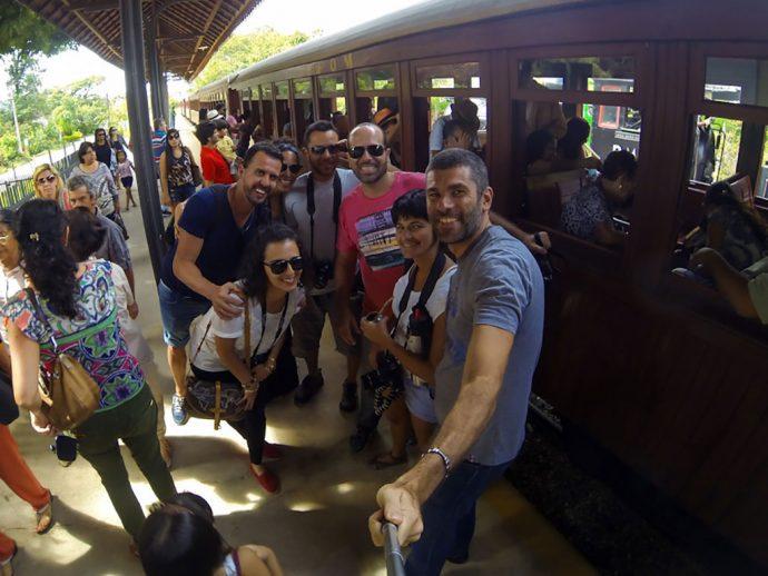 Nosso grupo Estação de Tiradentes