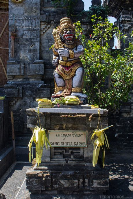 Templos em Bali: DALEM TENGKULUNG