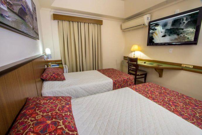 Suíte do Hotel Bella Itália