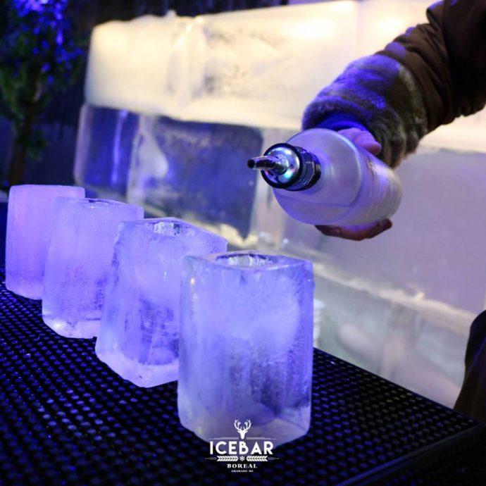 Copos de gelo