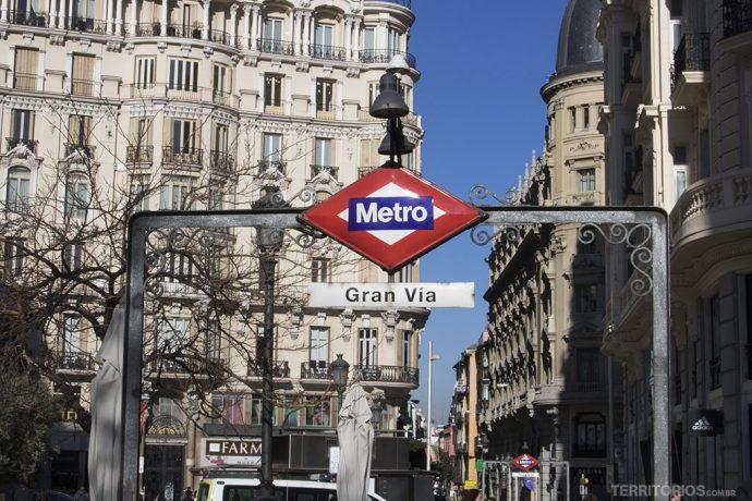 Metro é o meio de transporte mais rápido
