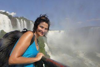 Roberta renova as energias nas Cataratas do Iguaçu - Estado do Paraná