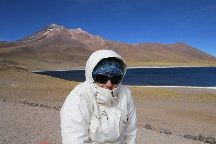 Muito frio e vento nos lugares acima de 4 mil metros de altura