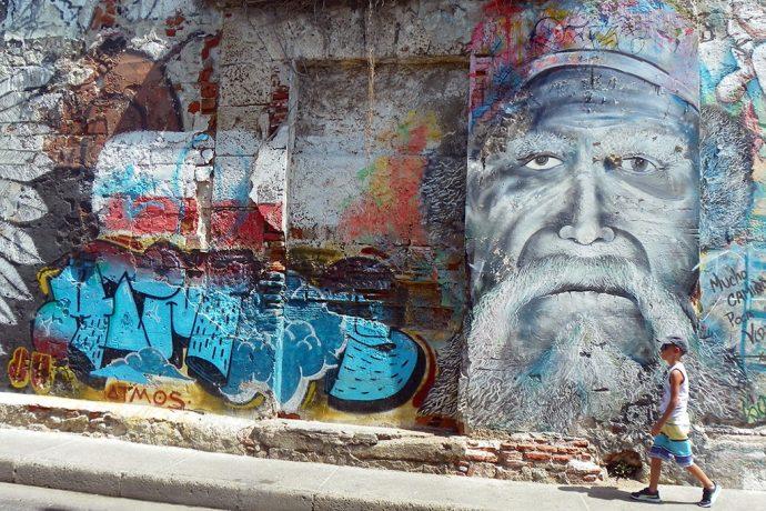 Muros coloridos de Getsanamí