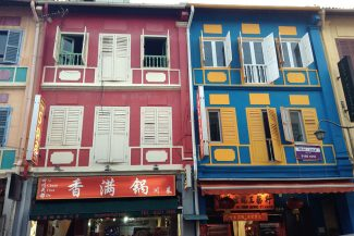 Chinatown no Singapura:roteiro