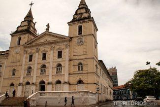 Igreja da Sé é a Catedral Metropolitana de São Luís, construída no século XVIII teve sua fachada reformada no estilo neoclássico em 1922