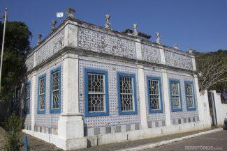 Casa Pinto D'Ulyssea (1866) é uma réplica de quinta portuguesa revestida com azulejos portugueses