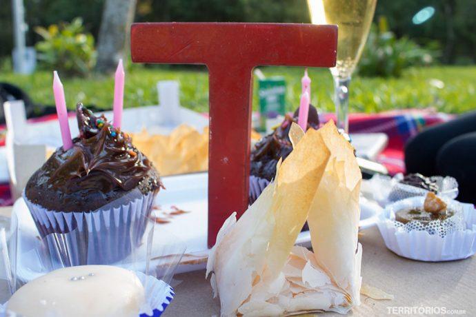 Sempre bom comemorar o aniversário com os doces de Pelotas