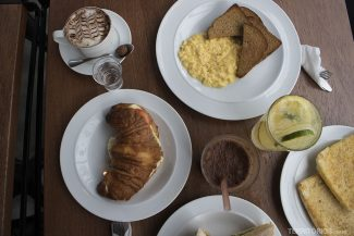 Café da manhã em São Paulo