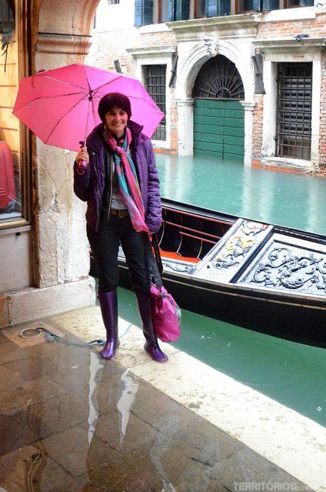 Roberta Martins em Veneza