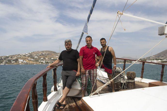 Parte da tripulação